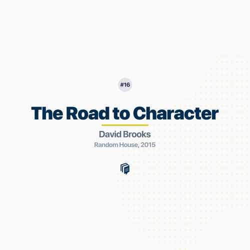 The Road to Character (Episode 16 Rebroadcast)